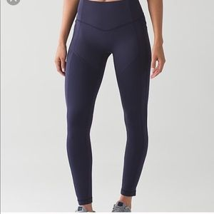 "Lululemon All the Right Places Pant 28""- Navy"